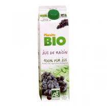 Planète Bio - Jus de raisin 1L