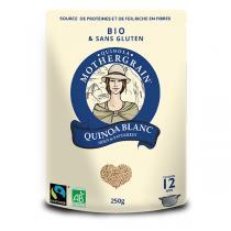 Quinola Mothergrain - Quinoa bio et équitable Blanc 250g