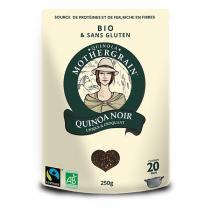 Quinola Mothergrain - Quinoa bio et équitable Noir 250g