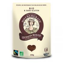 Quinola Mothergrain - Quinoa bio et équitable Rouge - 250g