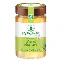 Ma Ruche Bio - Miel et Aloe vera sain et équilibrant 250g