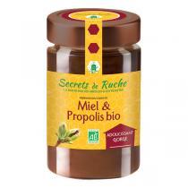 Secrets de Ruche - Miel et propolis bio - 250 g