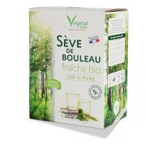 Vegetal Water - Sève de Bouleau Fraîche Bio - Bib de 5L - Récolte 2020