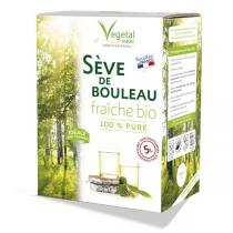Vegetal Water - Sève de Bouleau Fraîche Bio - Bib de 5L - Récolte 2021