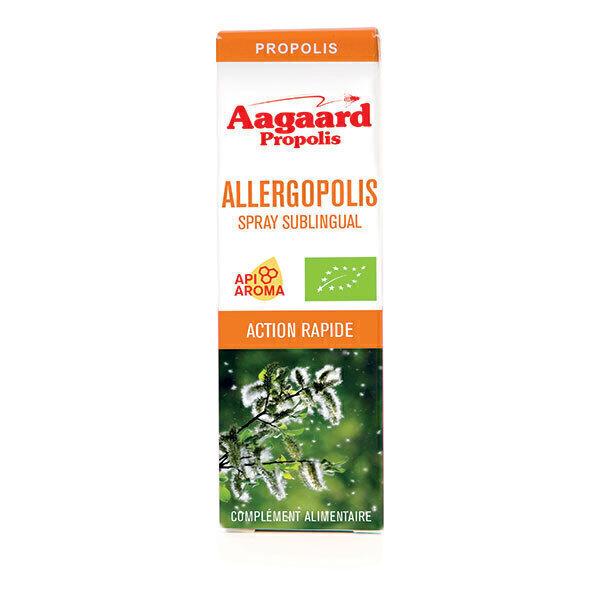 Aagaard Propolis - Allergopolis Spray Sublingual Bio - Flacon de 20mL