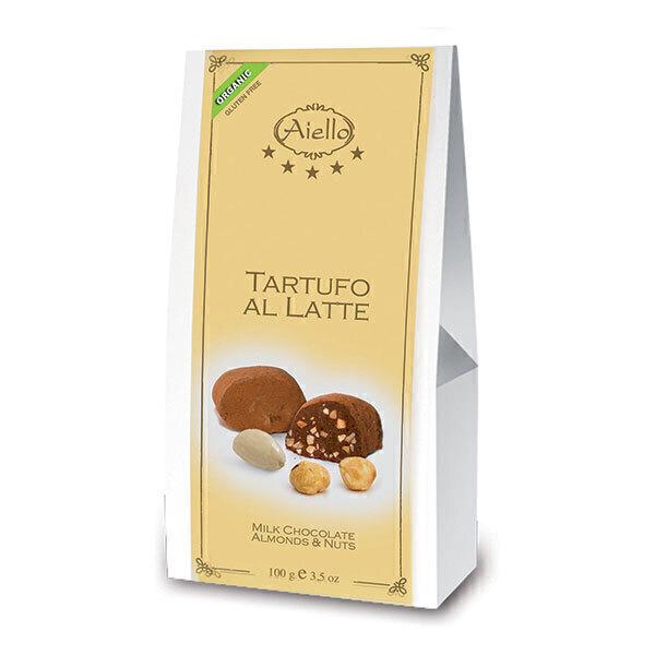 Aiello - Tartufo chocolat au lait - 100 g