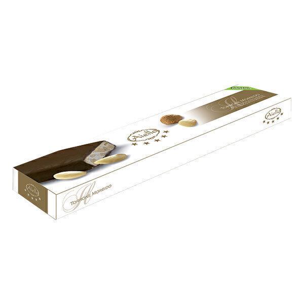Aiello - Torrone aux amandes & baies de goji au chocolat - 100g