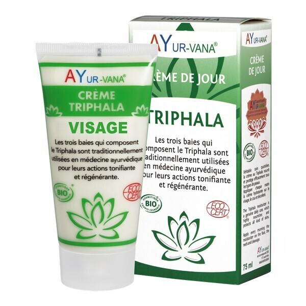 Ayur-Vana - Crème de Jour au Triphala bio - 75 ml