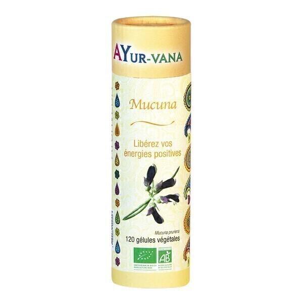 Ayur-Vana - Mucuna bio - 120 gélules végétales