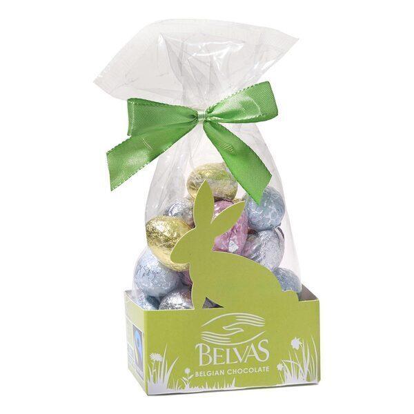 Belvas - Oeufs assortiment 5 chocolats 150g