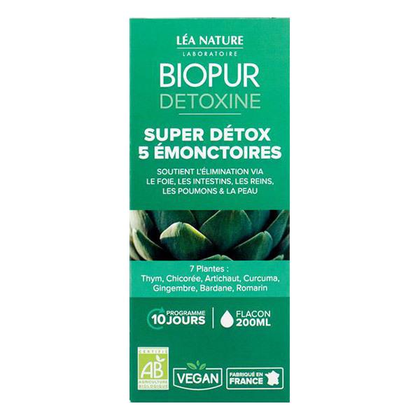 Biopur - Cocktail Détox 5 émonctoires 200ml