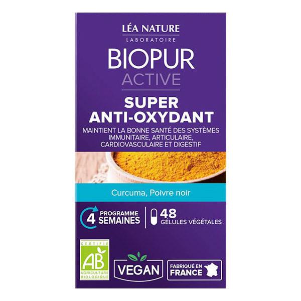 Biopur - Gélules végétales anti-oxydant x 48