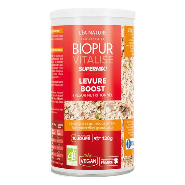 Biopur - Super Mix Levure Boost Graines germées 120g