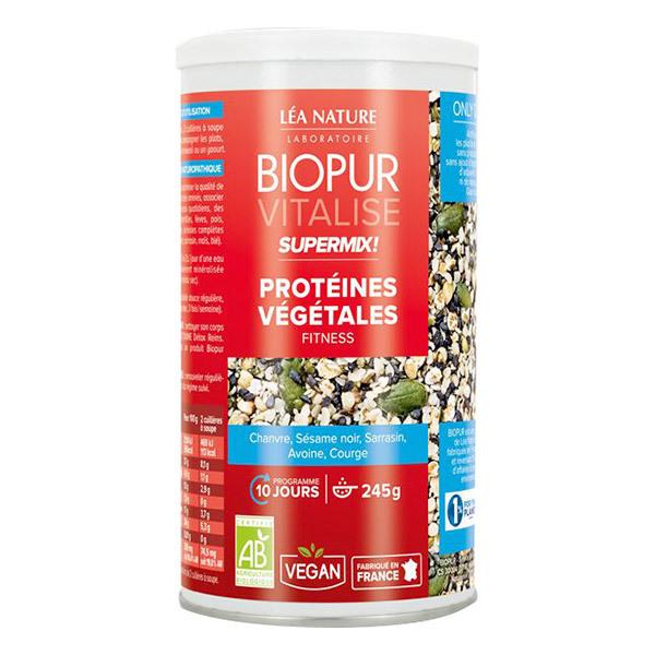 Biopur - Super Mix Protéines végétales Fitness 245g