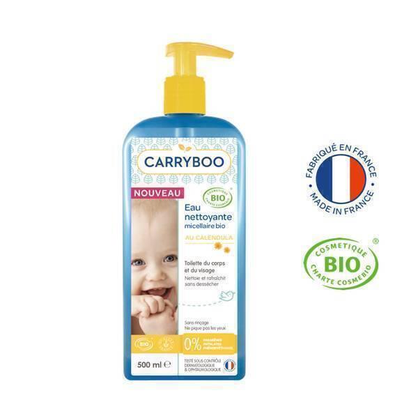 Carryboo - Lot 2x500ml - Eau Nettoyante Micellaire au Calendula