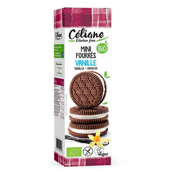 Céliane - Mini biscuits fourrés vanille 125g