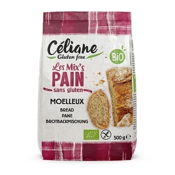 Céliane - Mix pain bio et sans gluten 500g