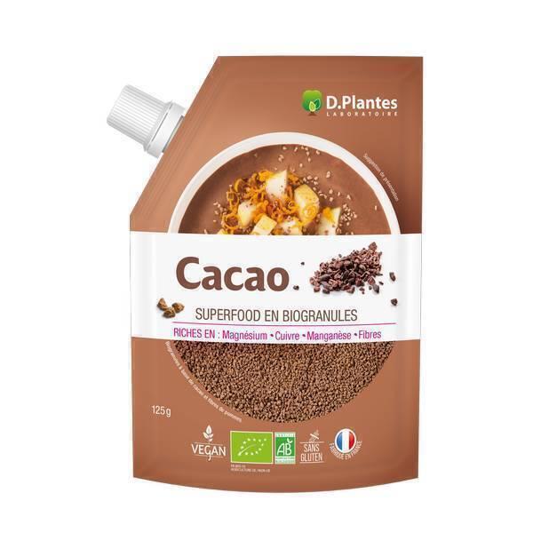 D.Plantes - Cacao bio - 125 g