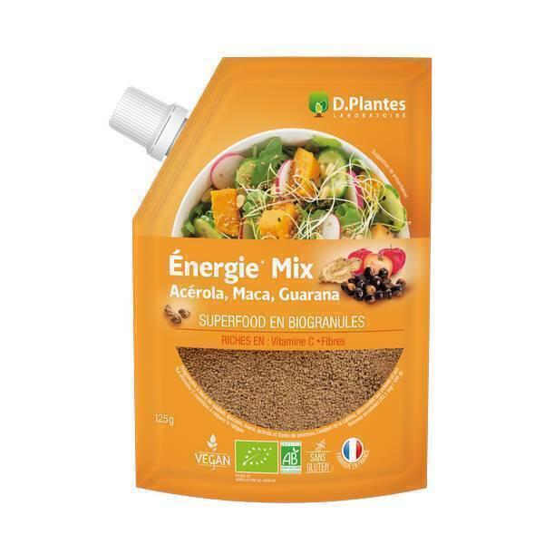 D.Plantes - Mix Energie Superfood Bio 125g