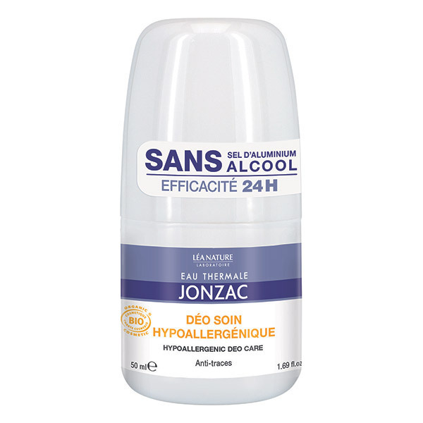 Eau Thermale Jonzac - Déodorant bille soin hypoallergénique 50ml