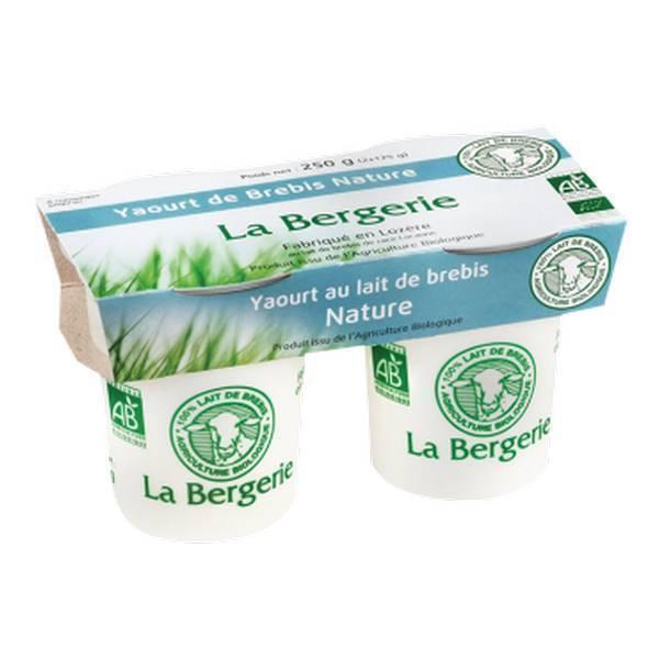 La Bergerie - Yaourt brebis nature 2x125g