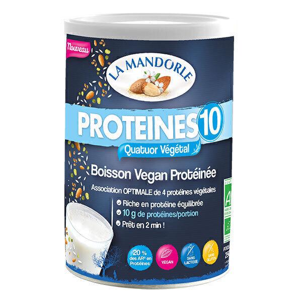 La Mandorle - Protéines 10 - Boisson Vegan Protéinée 250g