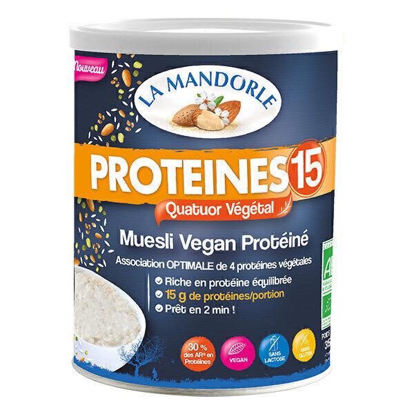 La Mandorle - Protéines 15 - Muesli Vegan Protéiné 315g