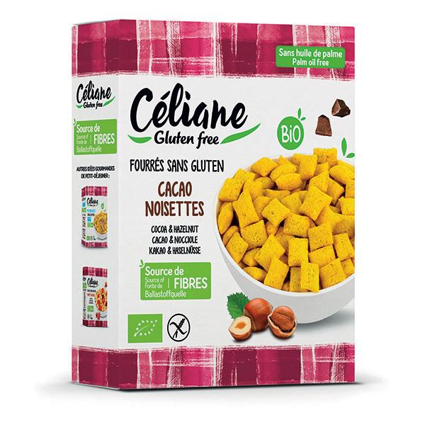 Céliane - Céréales fourrées cacao noisettes - 300 g