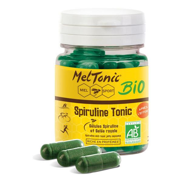 Meltonic - Complément alimentaire Spiruline Tonic bio 60 gélules
