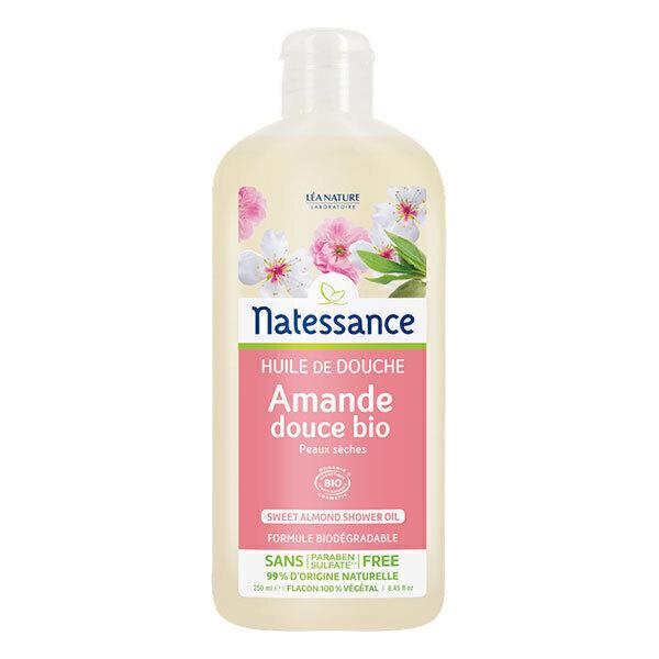 Natessance - Huile de douche Amande douce 250ml