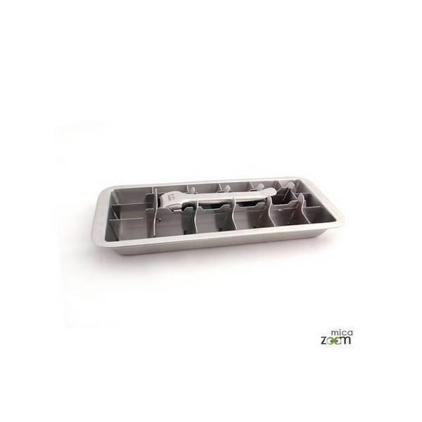 Onyx - Bac à glaçons en inox 18 cubes