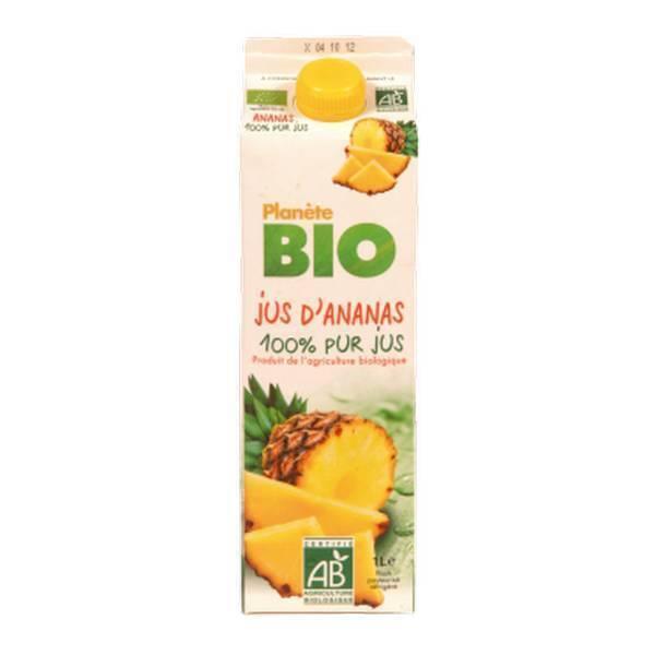 Planète Bio - Jus d'ananas Bio 1L