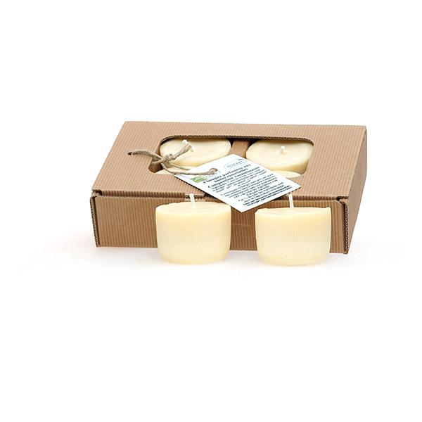 bo te de 4 bougies parfum es composition calmante qu sack. Black Bedroom Furniture Sets. Home Design Ideas
