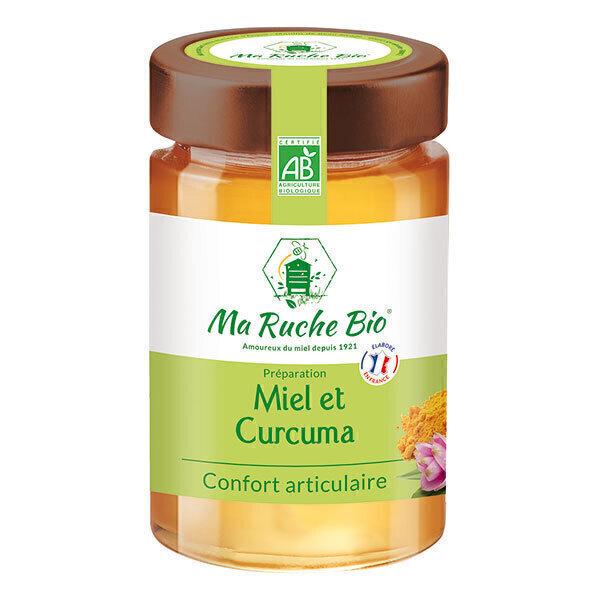 Ma Ruche Bio - Miel et Curcuma confort articulaire 250g