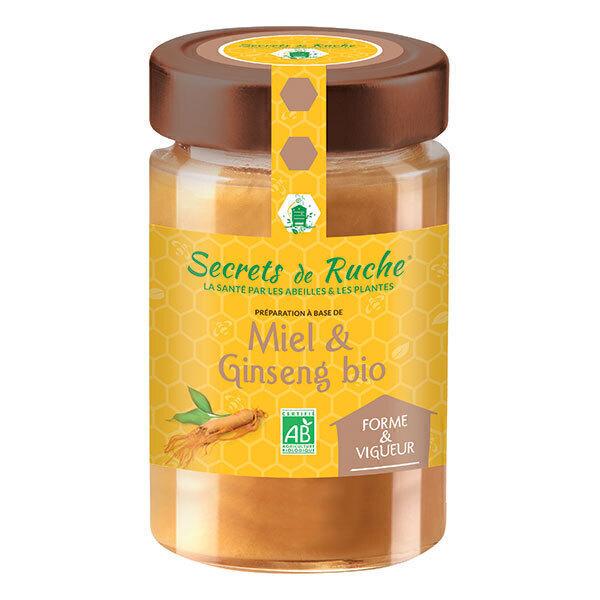 miel et ginseng bio 250 g secrets de ruche acheter sur. Black Bedroom Furniture Sets. Home Design Ideas