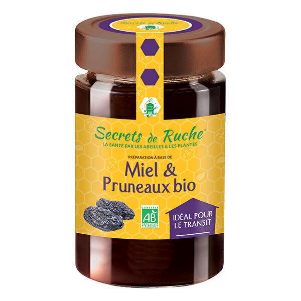 Miel et pruneaux bio 250 g secrets de ruche acheter - La ruche a miel ...
