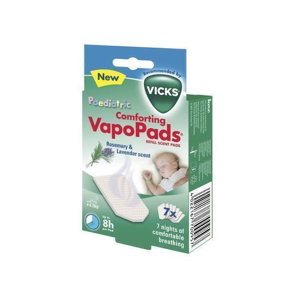 Vicks - 7 Tablettes VapoPads Lavande & Romarin
