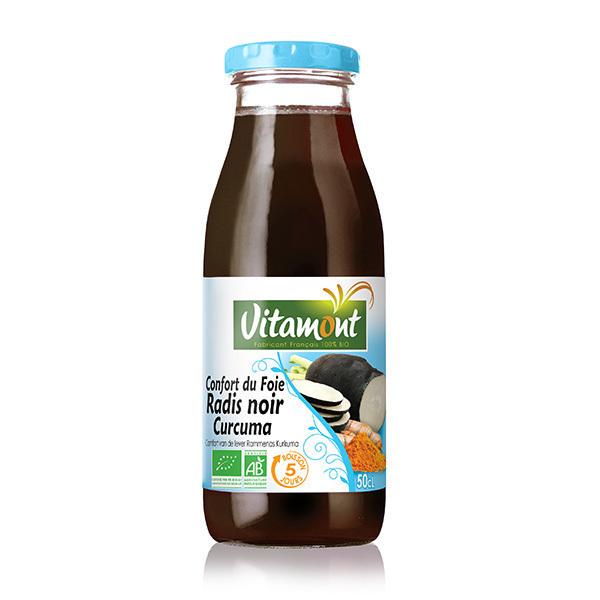 Vitamont - Confort du foie Radis noir Curcuma bio - 50 cl