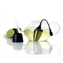 AdHoc - Boule à thé HANGTEA pour théière avec support égouttoir