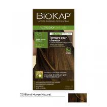 Biokap - Coloration Nutricolor Rapid 7.0 Blond moyen naturel 135ml