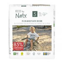 Eco by Naty - 22 Couches écologiques - T5, 12-18kg