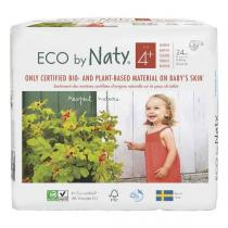 Eco by Naty - 24 Couches écologiques - Taille 4+, 9-20kg