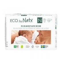 Eco by Naty - 25 Couches Nouveau-né - Taille 0