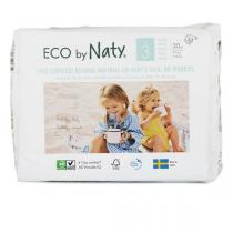 Eco by Naty - 30 Couches écologiques - Taille 3, 4-9kg