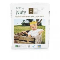 Eco by Naty - 17 Couches écologiques - Taille 6, XL 16 kg+
