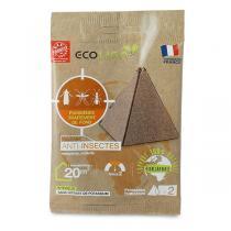 Ecolign - 2 pyramides fumigènes anti-insectes