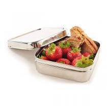 ECOlunchbox - Lunch box carrée en inox Solo Cube 60cl