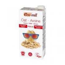 EcoMil - Boisson avoine nature sans sucre Bio 1L