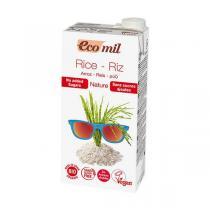 EcoMil - Boisson riz nature sans sucre Bio 1L