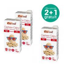 EcoMil - Offre Boisson noix de cajou sans sucres Bio 1L BIO 2+1 offert
